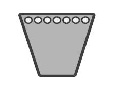 Keilriemen SPC 4400 Lw